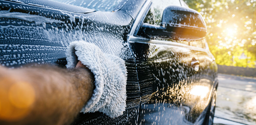 how to wash a car by hand